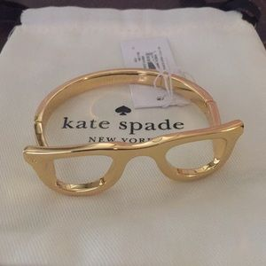 Kate Spade Lookout Glasses Bangle NWT